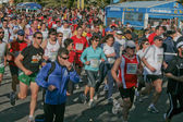 Half marathon — Stock Photo