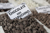Chocolate with cappuccino — Stock Photo