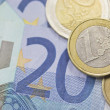 Euros money — Stock Photo