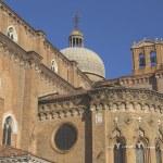������, ������: Basilica di San Giovani e Paolo Front view Venice Italy