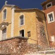 Church in village of Roussillon (Provence , France) — Stok Fotoğraf #12673105