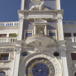 Clock tower with zodiac (Venice ,Italy) — Stock Photo