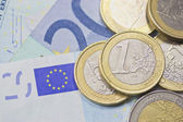 Euro money (background) — Stock Photo