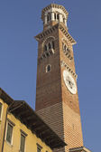 Torre dei Lamberti (Verona, Italy) — Stock Photo