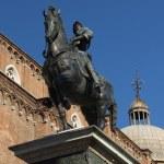������, ������: Statue of Bartolomeo Colleoni in Venice Italy