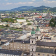 Royalty-Free Stock Photo: Aerial view of Salzburg (Austria)