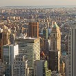 View of Manhattan from The Empire State Building — Stock Photo