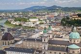 Aerial view of Salzburg (Austria) — 图库照片
