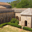 Thoronet Abbey from the Cistercian order in France. — Stock Photo
