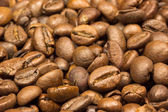 Coffee beans background. Closet view. — Stock Photo