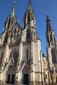 Saint Wenceslas Cathedral (Olomouc, Czech Republic) — Stock Photo