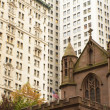 Stock Photo: Trinity church in New York City (USA)