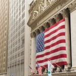 Wall Street in New York. (USA). Horizontally. — Stock Photo #17126675