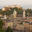 Fortress Hohensalzburg (Salzburg, Austria) — Stock Photo