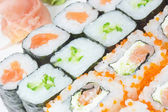 Detailed view of Maki Sushi — Stock Photo