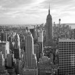 Monochromatic view of Empire State Building (NYC) — Stock Photo