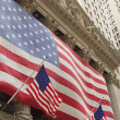 Wall Street New York Stock Exchange - Stock Photo