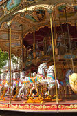The original French carousel — Stock Photo