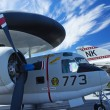 Grumman E-1B Tracer at Interpid Museum — Stock Photo