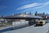 Lockheed-121 в музее неутомимый — Стоковое фото