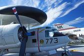 Grumman E-1B Tracer at Interpid Museum — Stock Photo