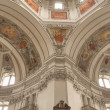 Постер, плакат: Interior of the Dome of the Salzburg Cathedral Austria
