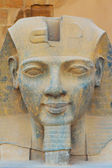 The sculpture of the King Ramses II (Egypt) — Stock Photo