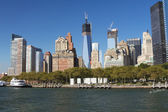 Lower Manhattan and Battery Park — ストック写真