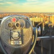 Coin operated binoculars, top of rock (New York City) — Stock Photo #24250579