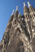 バルセロナのサグラダ ・ ファミリア — ストック写真