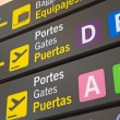 Airport Signs  — Foto de Stock