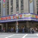 Radio City Music Hall in New York City — Stock Photo