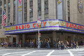 Radio City Music Hall in New York City — Stock Photo