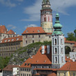 View of Cesky Krumlov (Czech Republic) — Stock Photo #26466161