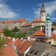 View of Cesky Krumlov (Czech Republic) — Stock Photo #26466279