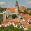 View of Cesky Krumlov (Czech Republic) — Stock Photo #26466305