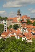 View of Cesky Krumlov (Czech Republic) — Stock Photo