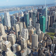 Aerial view of the Midtown (Manhattan, New York City).  — Stock Photo