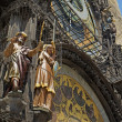 Astronomical clock (Prague, Czech Republic) — Stock Photo