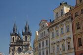 Widok ogólny starego miasta — Zdjęcie stockowe
