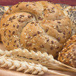 Постер, плакат: Whole wheat bread