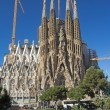 Sagrada Familia is still under construction (Barcelona, Spain) — Stock Photo