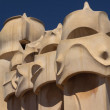 Rooftop of Casa Mila in Brcelona — Stock Photo