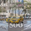 5th Avenue with brands of luxury Shop in the background (NYC) — Stock Photo