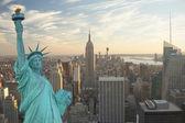 New York City collage — Stock Photo