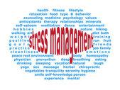 Stress manegement — Stock Vector