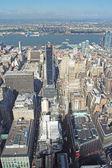 Veduta aerea di macy e midtown — Foto Stock