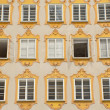Birthplace of Wolfgang Amadeus Mozart (Salzburg) — Stock Photo #40884939