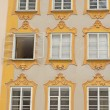 Birthplace of Wolfgang Amadeus Mozart (Salzburg) — Stock Photo #40885101