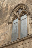 Gothic Window (Barcelona) — Stock Photo